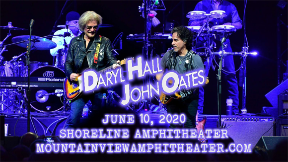Hall and Oates, KT Tunstall & Squeeze [POSTPONED] at Shoreline Amphitheatre