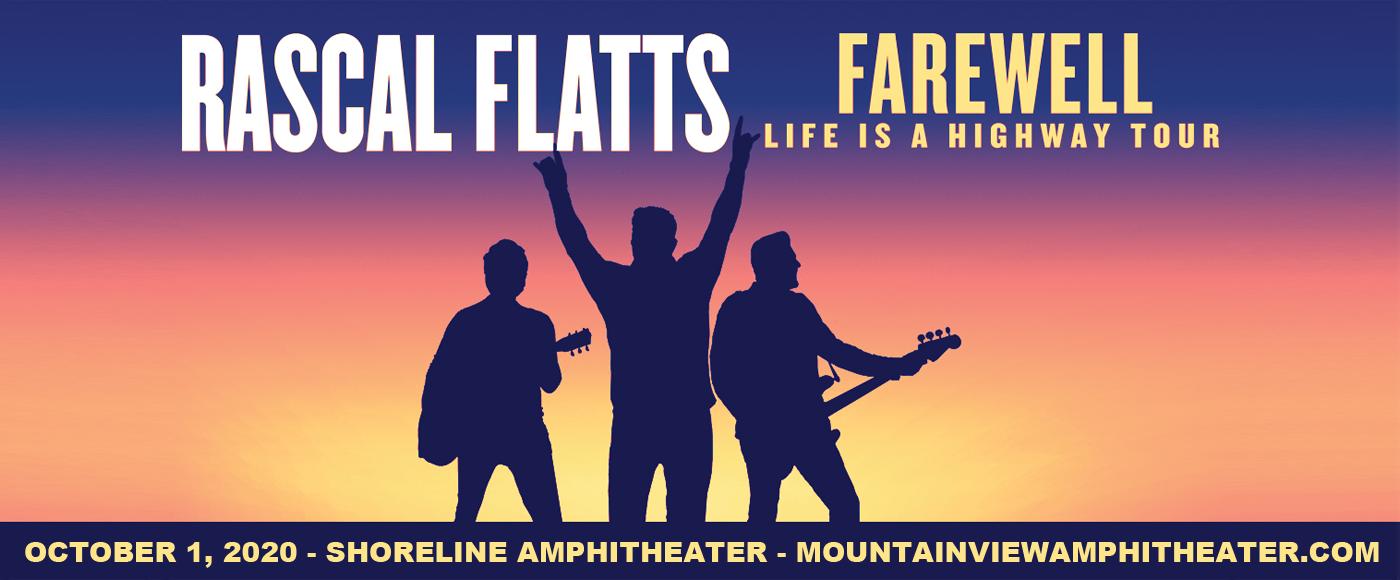Rascal Flatts [CANCELLED] at Shoreline Amphitheatre