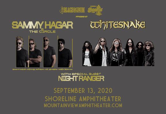Sammy Hagar and the Circle & Whitesnake [CANCELLED] at Shoreline Amphitheatre