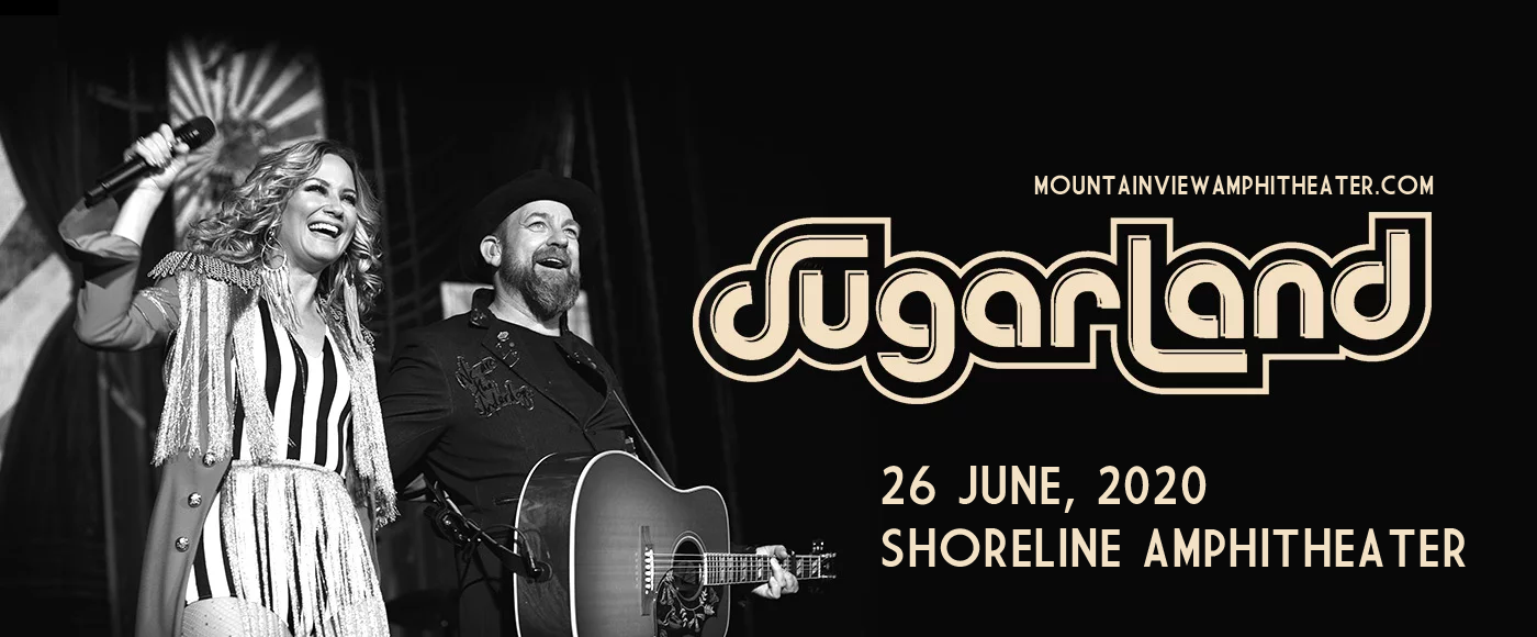 Sugarland [CANCELLED] at Shoreline Amphitheatre