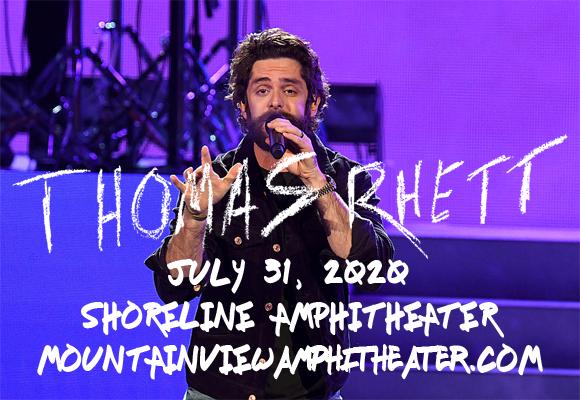 Thomas Rhett & Cole Swindell at Shoreline Amphitheatre