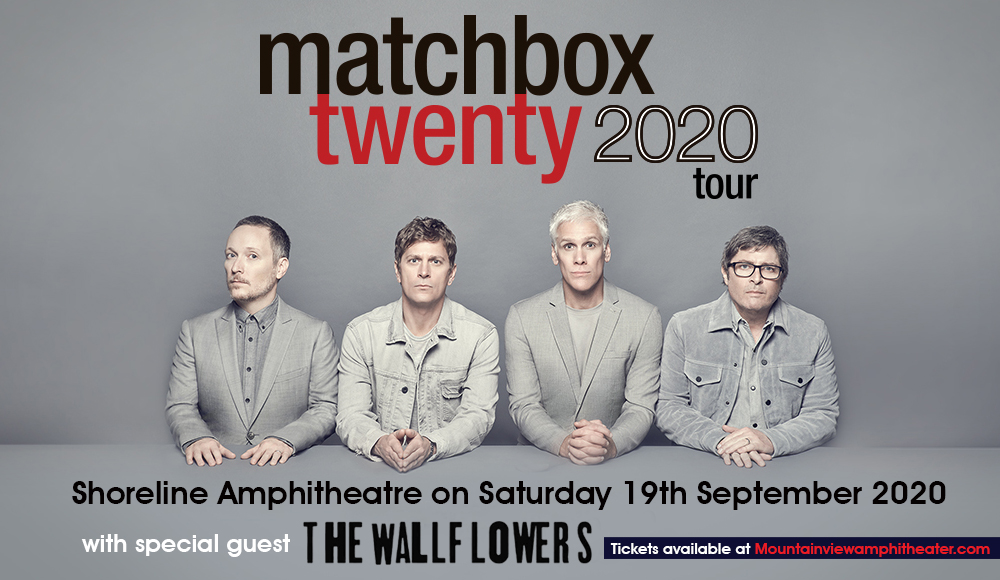 Matchbox Twenty & The Wallflowers at Shoreline Amphitheatre