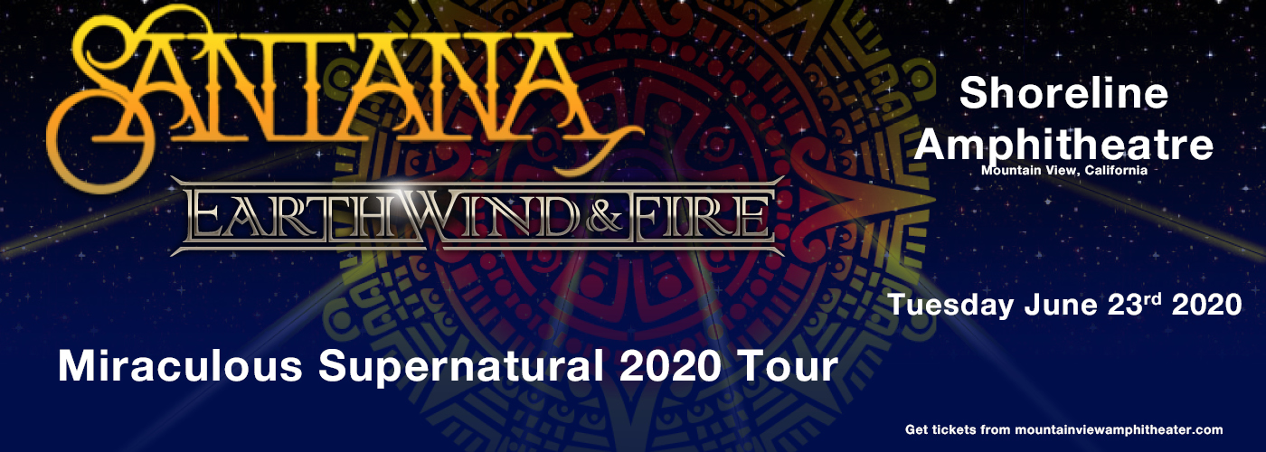 Santana & Earth, Wind and Fire at Shoreline Amphitheatre