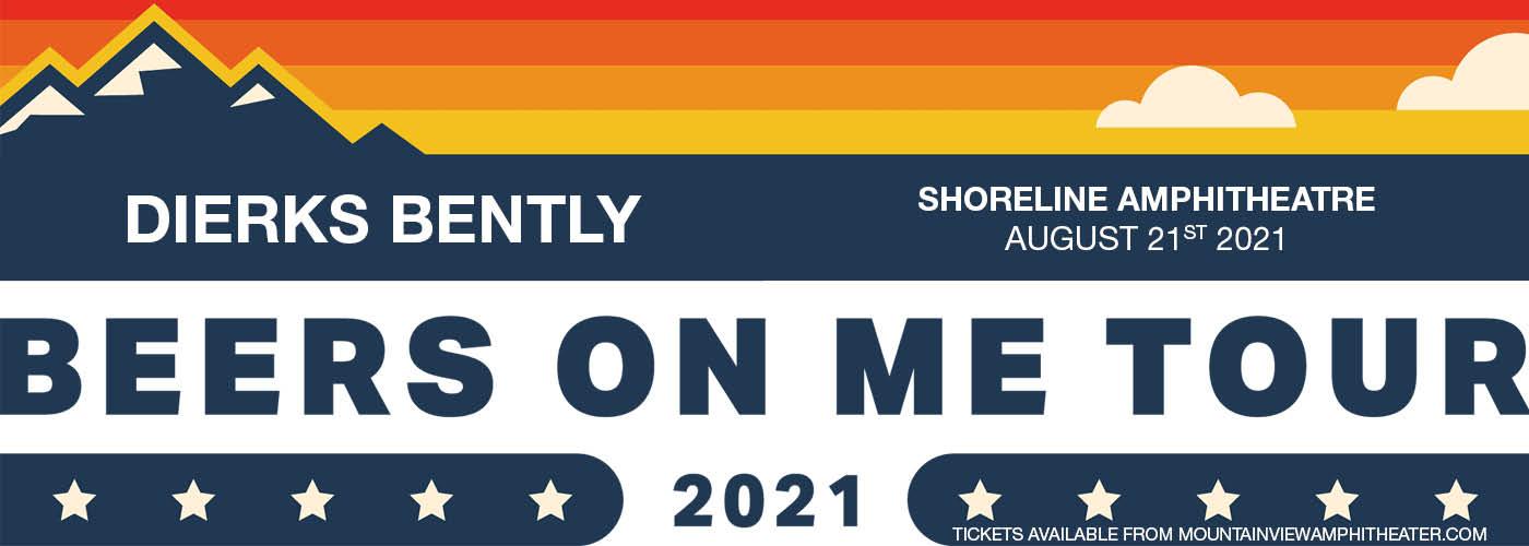 Dierks Bentley: Beers on me tour at Shoreline Amphitheatre