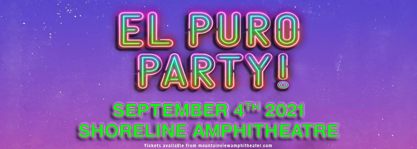 El Puro Party at Shoreline Amphitheatre