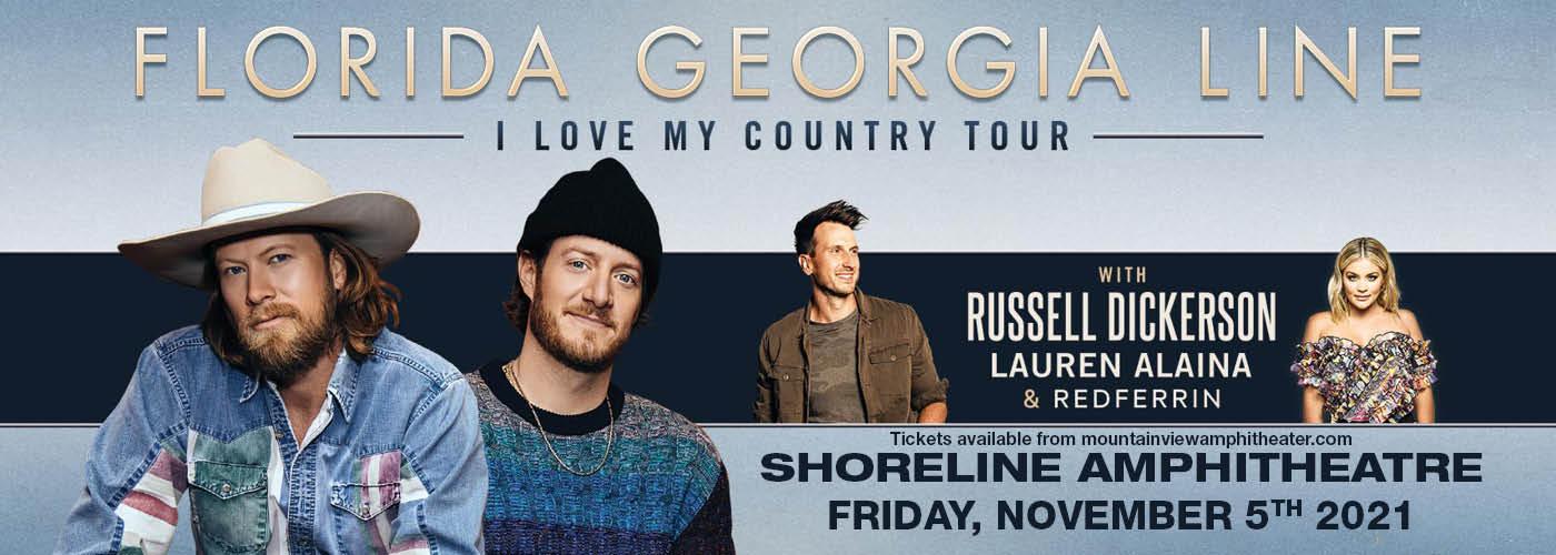 Florida Georgia Line: I Love My Country Tour [CANCELLED] at Shoreline Amphitheatre