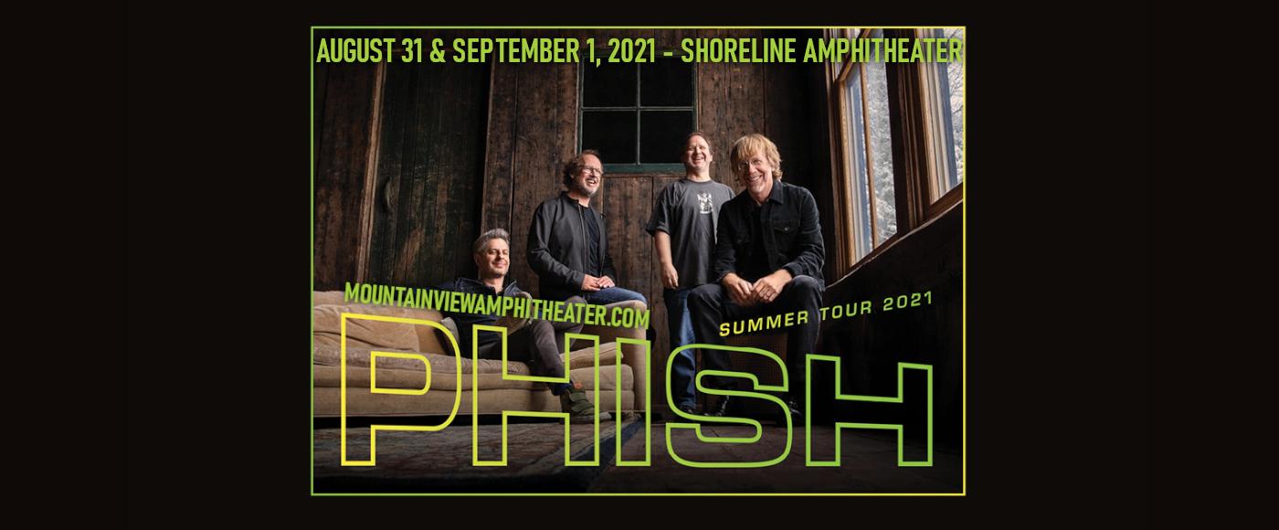 Phish at Shoreline Amphitheatre