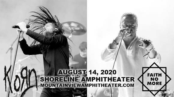 Korn, Faith No More, Scars On Broadway & Spotlights at Shoreline Amphitheatre