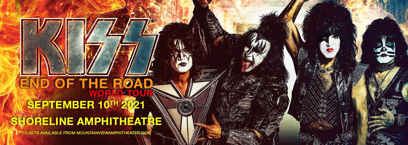 KISS: End Of The Road World Tour at Shoreline Amphitheatre
